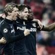 Bayern Munich (2) 2-1 (2) Atletico Madrid: Simeone's men advance on away goals in thrilling affair