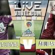 Desde los lanzamientos del punto penalti, Atlético Nacional venció 5-4 a Rionegro Águilas Doradas