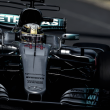 Lewis Hamilton logra la pole, Sebastian Vettel avisa