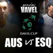 Copa Davis 2016. Australia - Esloaquia: los locales ante lo que parece un trámite