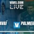 Resultado Avaí 2x1 Palmeiras pelo Campeonato Brasileiro 2017