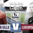 Aston Villa vs Liverpool Live Stream Score Commentary in Premier League 2016