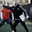 El primer entrenamiento de Pako Ayestarán con el Valencia CF