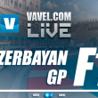 Formula 1 Live Stream and lap-by-lap updates of 2017 Azerbaijan GP
