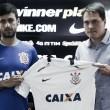 Com contrato de três anos, volante Camacho é apresentado no Corinthians