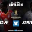 """Santa Fe - Santos: El """"León"""" quiere el liderato de su grupo en Copa Libertadores"""