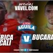 América vs. Bucaramanga: los 'diablos rojos' le apuntan a la permanencia