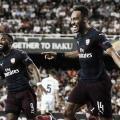 Comhat-trick deAubameyang, Arsenal derrota Valencia e está na final da Europa League