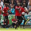 Premier League - Altro poker del Manchester United, Swansea travolto nel finale