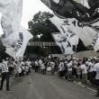 Protesto da torcida marca pré-clássico no Atlético-MG