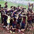 Barcelona 2-2 Deportivo de la Coruña: Barca lift title as visitors ensure La Liga safety