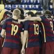 Los extremos lideran al Barça en Logroño