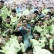 Atletico Madrid 0-1 Barcelona: Barca secure La Liga title at the Caldéron