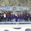 El Barça levanta la Copa del Rey / ACB.COM