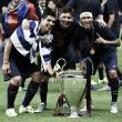 The World at their feet: Barcelona's exceptional front-three