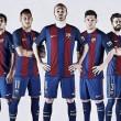 Barcelona apresenta uniforme para próxima temporada com volta das tradicionais listras verticais