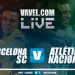 Barcelona de Guayaquil se lleva el primer round ante Nacional
