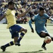 Las Palmas 1-2 Barcelona: Suarez and Neymar make it 32 unbeaten for Barca