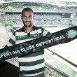 El delantero Bas Dost, nuevo refuerzo del Sporting de Portugal