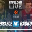 Resumen Fenerbahce Dogus vs Kirolbet Baskoniaen Euroliga 2018(95- 89)