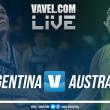 Argentina vs Australia por el Mundial de España 2018 en vivo online