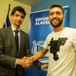 Borja Bastón, nuevo jugador del Alavés
