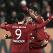 FC Augsburg 1-3 Bayern Munich: Reigning champions restore eight-point lead at the top
