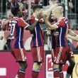 Müller, Robben y la primera tonada en la escala del triunfo