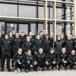 Jorge Vilda y su equipo, en el Grupo de Estudio de UEFA