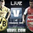 Resultado do jogo Borussia Dortmund x Arsenal ao vivo na Uefa Champions League