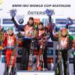 Biathlon - Oestersund: la coppia Dorin - Fourcade si impone nella single mixed