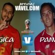 Previa Bélgica vs Panamá: un principiante que busca dar sorpresa