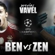 Benfica - Zenit: ¡Luces, cámaras y acción!
