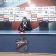 """Lucas Bernardi: """"En el partido fuimos perdiendo confianza"""""""