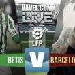 En vivo: Betis 0-0 Barcelona online en Primera División 2016