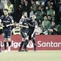 Antoñito dio los tres puntos al Pucela en el Villamarín