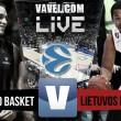 Bilbao Basket vs Lietuvos Rytas en vivo y en directo online en Eurocup 2016 (39-31)