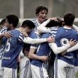 La Real Sociedad B golpea y esquiva para triunfar en Sarriena