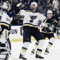 Los Blues establecen su mejor récord de victorias consecutivas