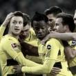 """Marco Reus cita sufoco em vitória do Borussia Dortmund: """"Foi um jogo difícil"""""""