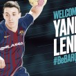 Yanis Lenne llega a Barcelona