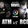 Previa Atlético de Madrid - Deportivo de la Coruña: ganar para mantener viva la llama