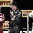 Vettel, Räikkönen y el 'torpedo en discordia', Kvyat