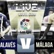 Resultado Alavés vs Málaga en vivo online en La Liga 2016