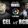 Previa RC Celta de Vigo - RC Deportivo: un derbi como remedio