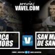 "Previa Boca Juniors vs San Martin (SJ): el ""Xeneize"" quiere escudriñar otra victoria"