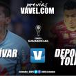 Previa Bolívar Vs Deportes Tolima: El 'pijao' va por la hazaña en La Paz