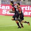Spettacolo al Sant'Elia: il Cagliari vince 4 a 1, Genoa sempre più in crisi