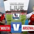 Resultado Bournemouth - Arsenal en Premier League 2016 (0-2): tan solo dos minutos para ganar