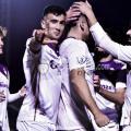 Jugadores del Real Jaén celebran un tanto (Real Jaén)